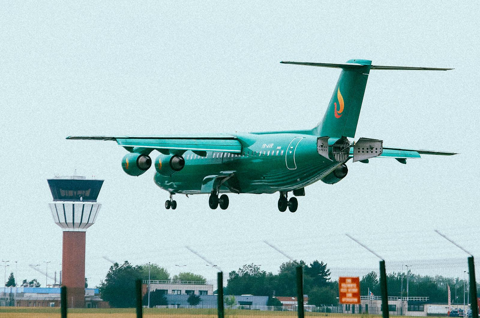 L'avion vert, un mirage