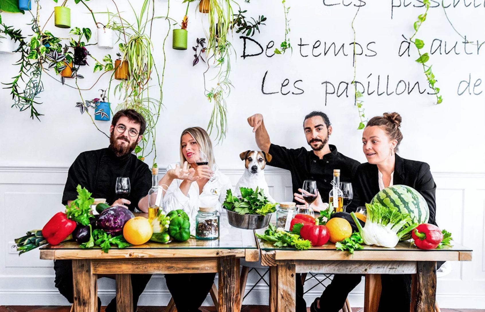Un restaurant vegan étoilé au guide Michelin