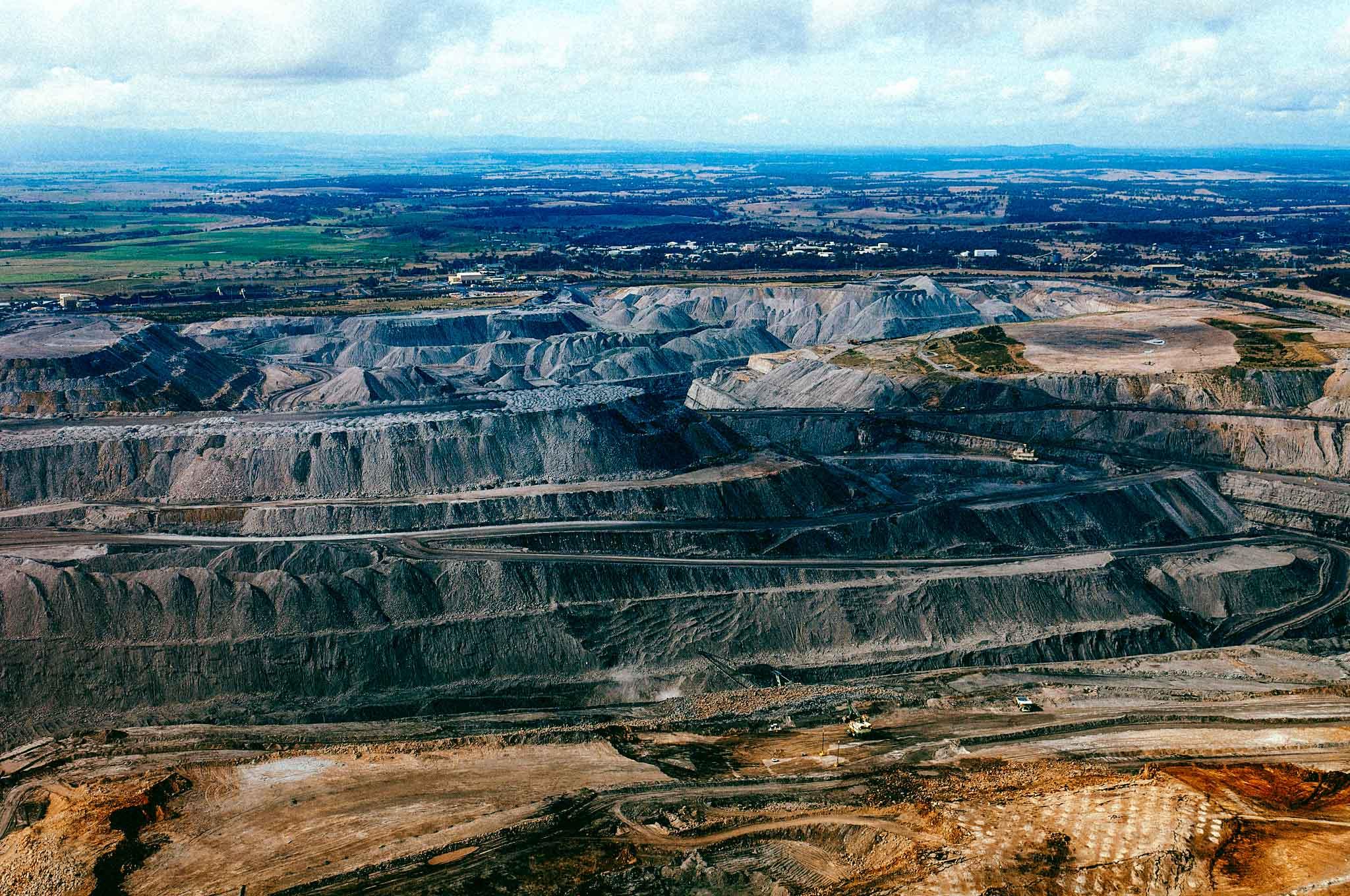 Les mines de charbon sont aussi des puits de méthane